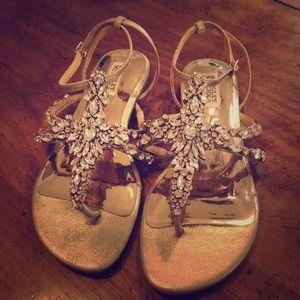 Badgley Mischka Hampden Sandals size 8!